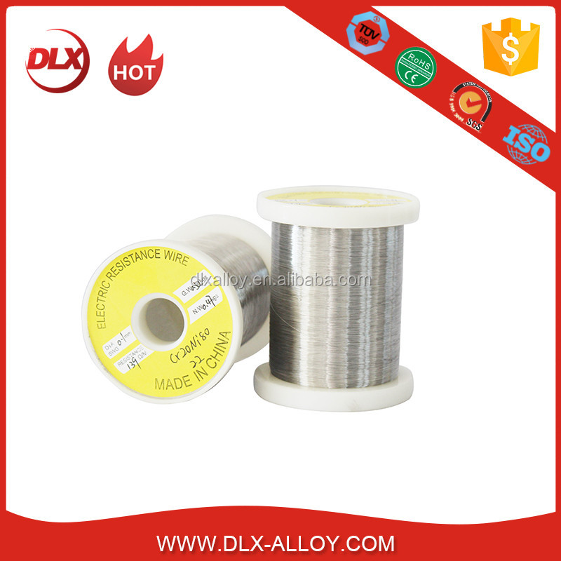 Bare High Quality Nichrome Cr15Ni60 Flat Resistance Wire