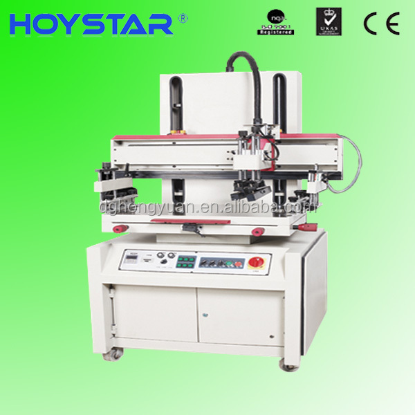 one color semi-automatic silk screen printing machine for gasket/pcb/board