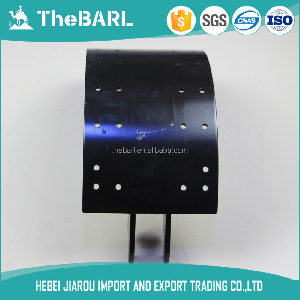 China Gucheng Jiarou TheBARL Hot Sales Low Price Top quality 1443 e brake shoes For All Truck All Bus