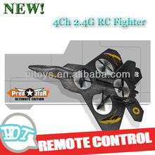 4Ch 2.4G RC Fighter / F22 fighter / Foam Aircraft