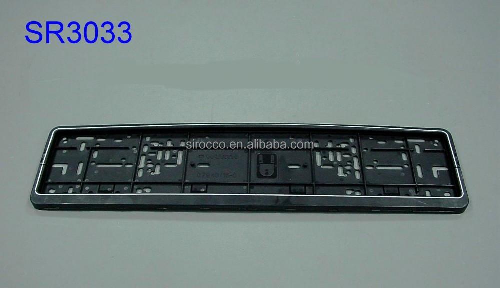 auto allemagne en plastique support bo tier noir cadre de plaque d 39 immatriculation de voiture. Black Bedroom Furniture Sets. Home Design Ideas