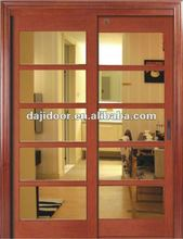 Double Glass Kitchen Sliding Doors Drawing DJ-S404