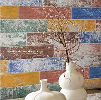 China Manufacturer Painting Rectangular Colored Cement Wall Floor Ceramic Tile