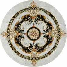 Chinese natural natural marble wall tile medallion