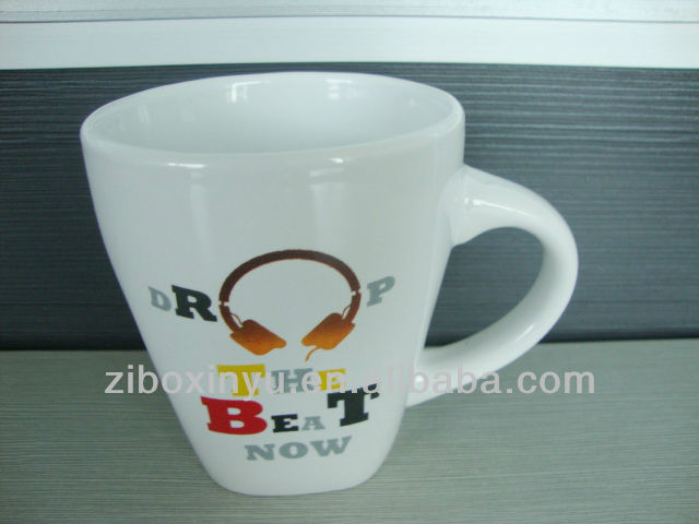 10oz New product china mug with Music printing FOR ZIBO XINYU