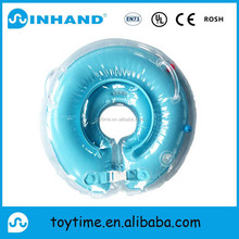 factory sale high quality inflatable baby float swimming neck ring/swim trainer for pool swimming
