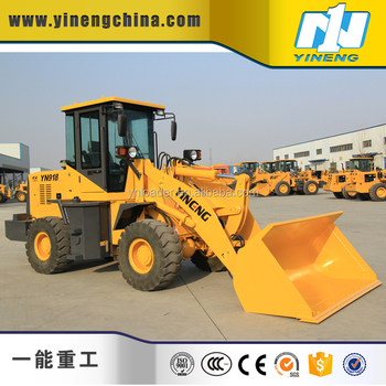 YN918G small wheel loader 1.5ton loader for sale