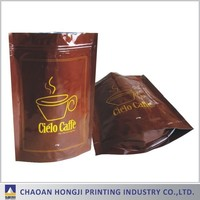 plastic food packaging pouch/ink burlap coffee bags/coffee doypack