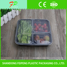 3 Compartment Disposable Microwave Food Containers
