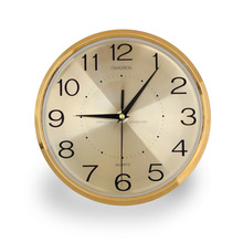 10 inches plastic wall clocks with aluminium dial