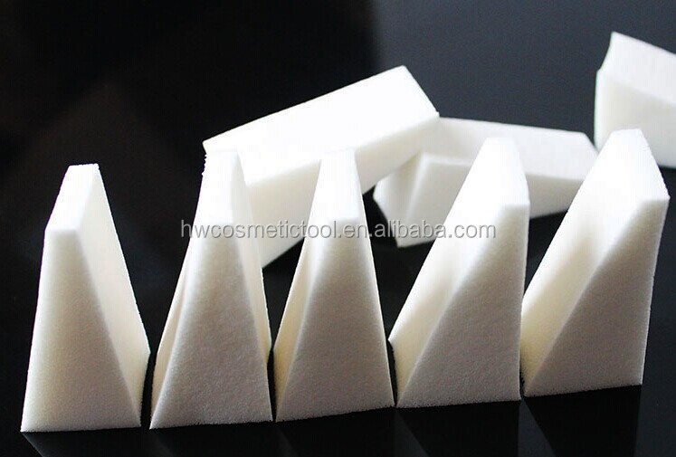 disposable triangle cometic powder puff
