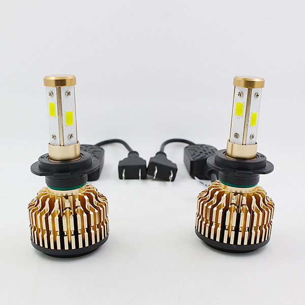 Free gift!!High power 360 degree led replacement bulbs T4 45w 4500lm oto accessories led hid bulbs