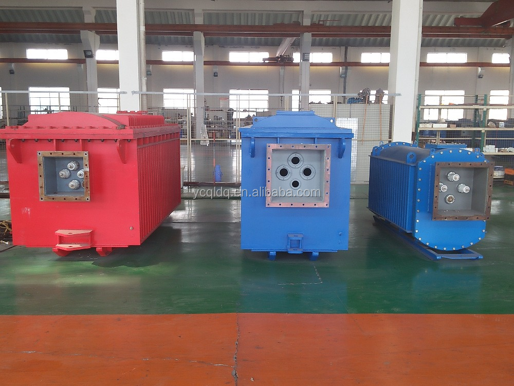 Product has good heat dissipation and insulation performance, mine-used flameproof explosion dry type transformer