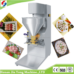 Best choice cheap price seafood meatball making machine