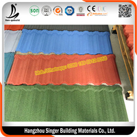 SGB Stone Chip Coated Steel Roof Tile For Kenya, Nigeria, Ghana, India