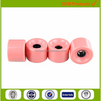 color wheels wholesale longboard skateboard parts pu material