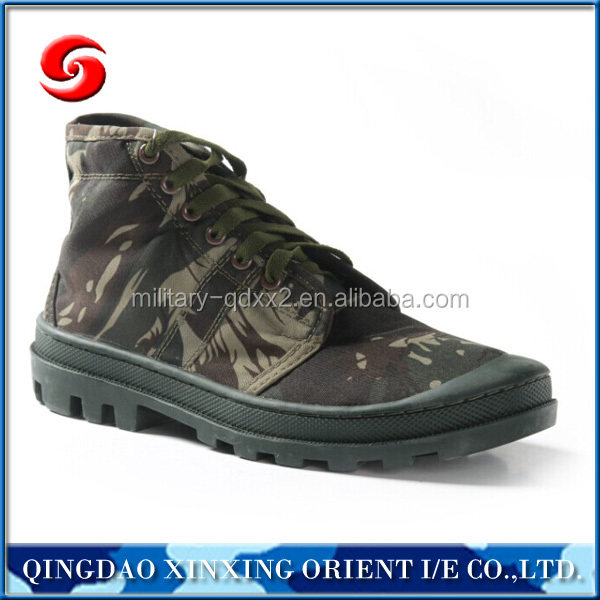 military canvas camo jungle army combat shoes