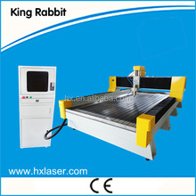 JINAN KING RABBIT water cooling spindle, square orbit, DSP control 1325 stone cnc router