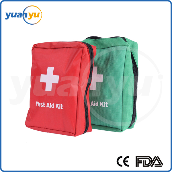 2016 hot health care wearing emergency medical back pack portable lovely first aid kit for office home workplace