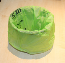Bio Degradable bags are strong & leak proof, made with 100% non GM Vegetable Starch