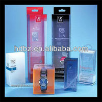 clear plastic pvc watch boxes packaging wholesales