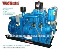 Diesel engine water pump set