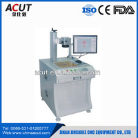 20W Laser Metals Engraving Machine Optical Fiber Laser Marking Machines