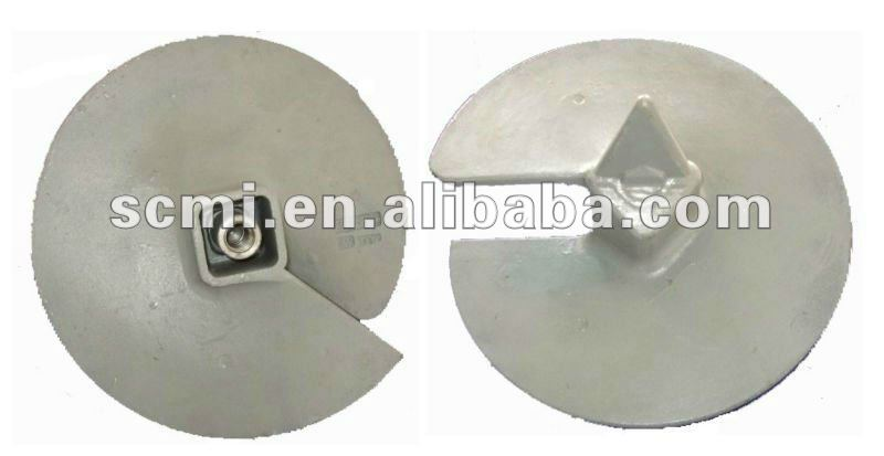 earth anchor / Steel earth screw anchor/ pole line ground screw anchor
