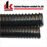 Galvanized corrugated PVC covered flexible pipe hose