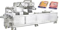 sliced cold meat products packaging machine in thermoforming in rigid film with modified atmosphere (MAP)