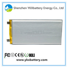 Prismatic Lithium li Ion Li-ion Polymer lipo Rechargeable 3.7v 5000mah tablet pc battery