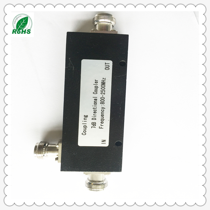 300W 800-2500MHz Outdoor IP65 High Power Low PIM RF Directional Coupler