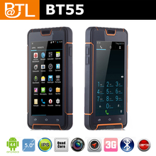BATL BT55 4000mah quad core NFC 5 inch 3G otg silicone rugged phone cover