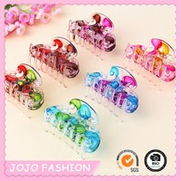 High Quality Hot Selling Colorful Flower Hair Claw/Hairpins/Hair Clip