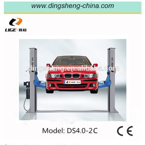 One Cylinder Hydraulic Lift Type and Two Post Design car lifter