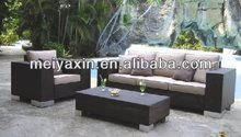 2014 Popular Hot rattan wicker cheap outdoor wicker furniture rattan sofa