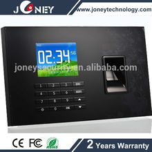 "2.8"" TFT display usb time recording Biometric fingerprint time attendance android"