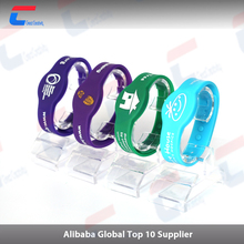 2015 hot sell ntag213 silicone rfid wristband for events