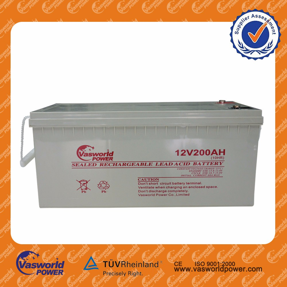 12v 200ah GEL Battery Deep Cycle Battery Battery for farm machinery