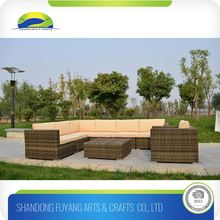 Commercial European Modern Sectional Sofa Set Furniture