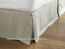 100% polyester fitted bed skirt hotel use