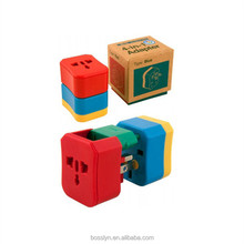 Import gift items from china electrical gadgets world travel charger adapter