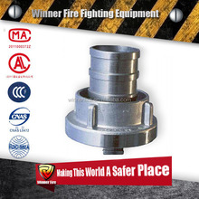 2.5 inch Probable Stainless Steel Fire Hose Coupling Connector for fire Hose