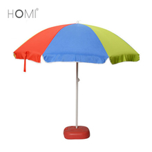 China Standard Size Windproof Commercial Grade Custom Sun Shelter Tent Beach Umbrella