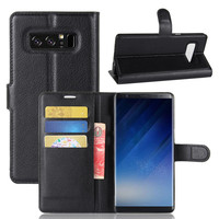 for samsung note 8 leather case Flip Cover Stand Wallet Case for Samsung Galaxy S8 S8 plus