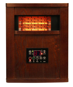 Wooden Cabinet Infrared Portable Heater