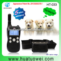 2015 Top Quality Waterproof Pet Dog Training Electric Device