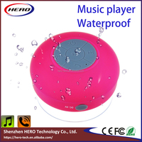 2016 Hot sale cheap music speaker waterproof bluetooth EDR handfree