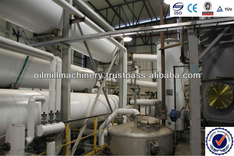 Cotton/corn oil deodorizing equipment plant