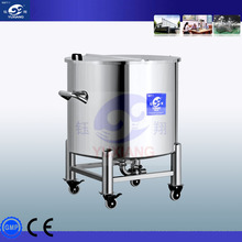 stainess steel top open gasoline storage tank